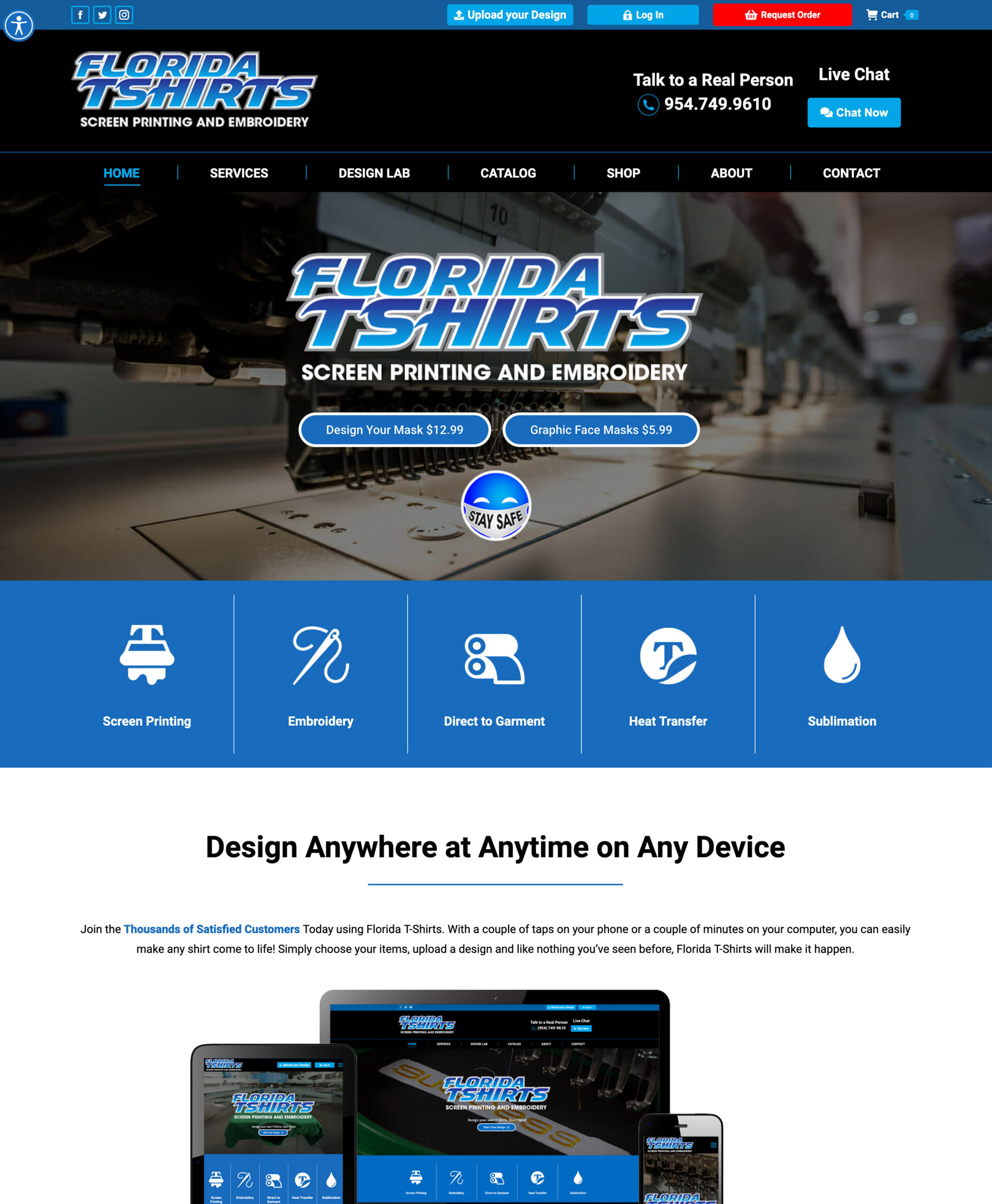 FlTshirts-Home Page