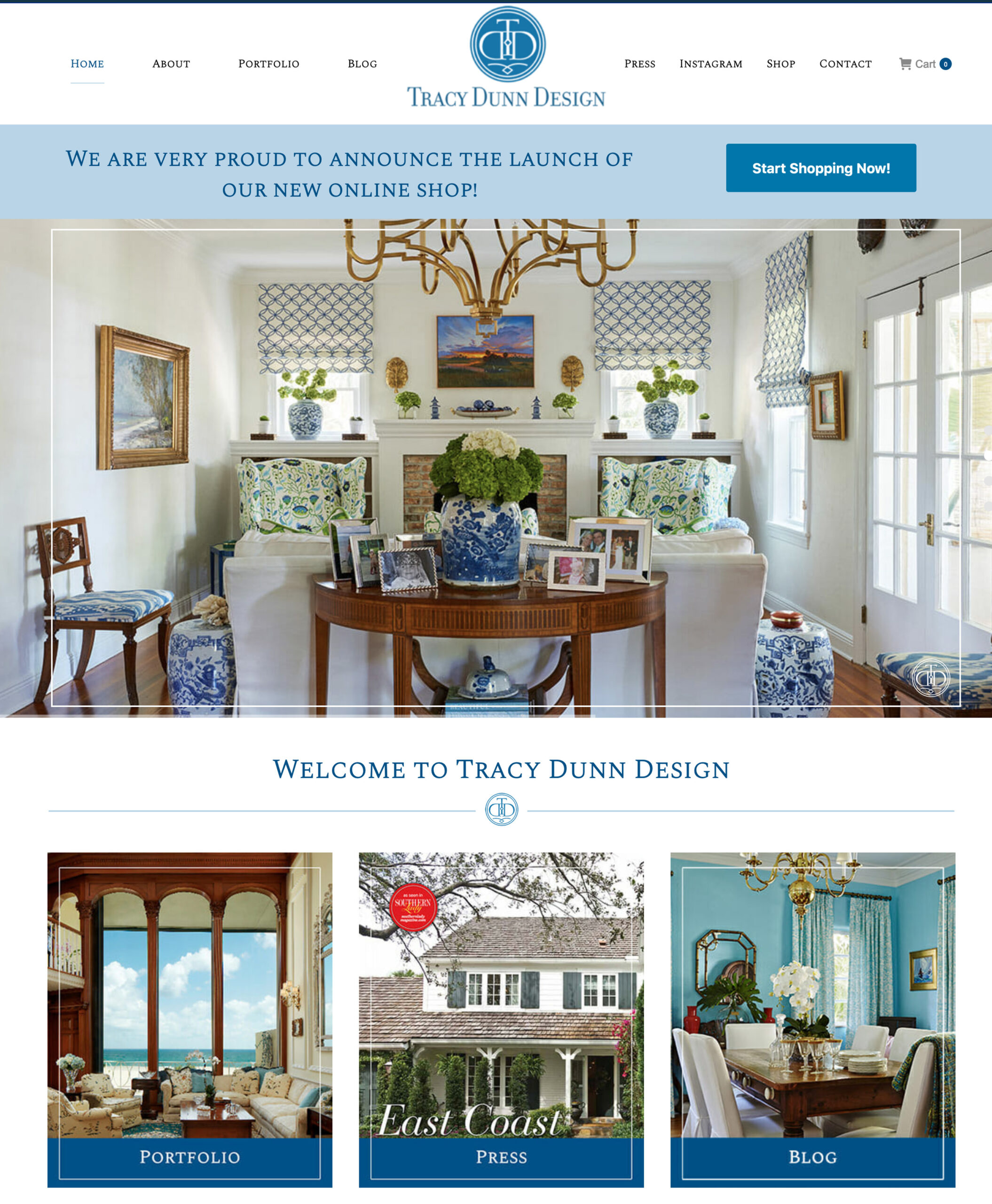 Tracy-Home Page