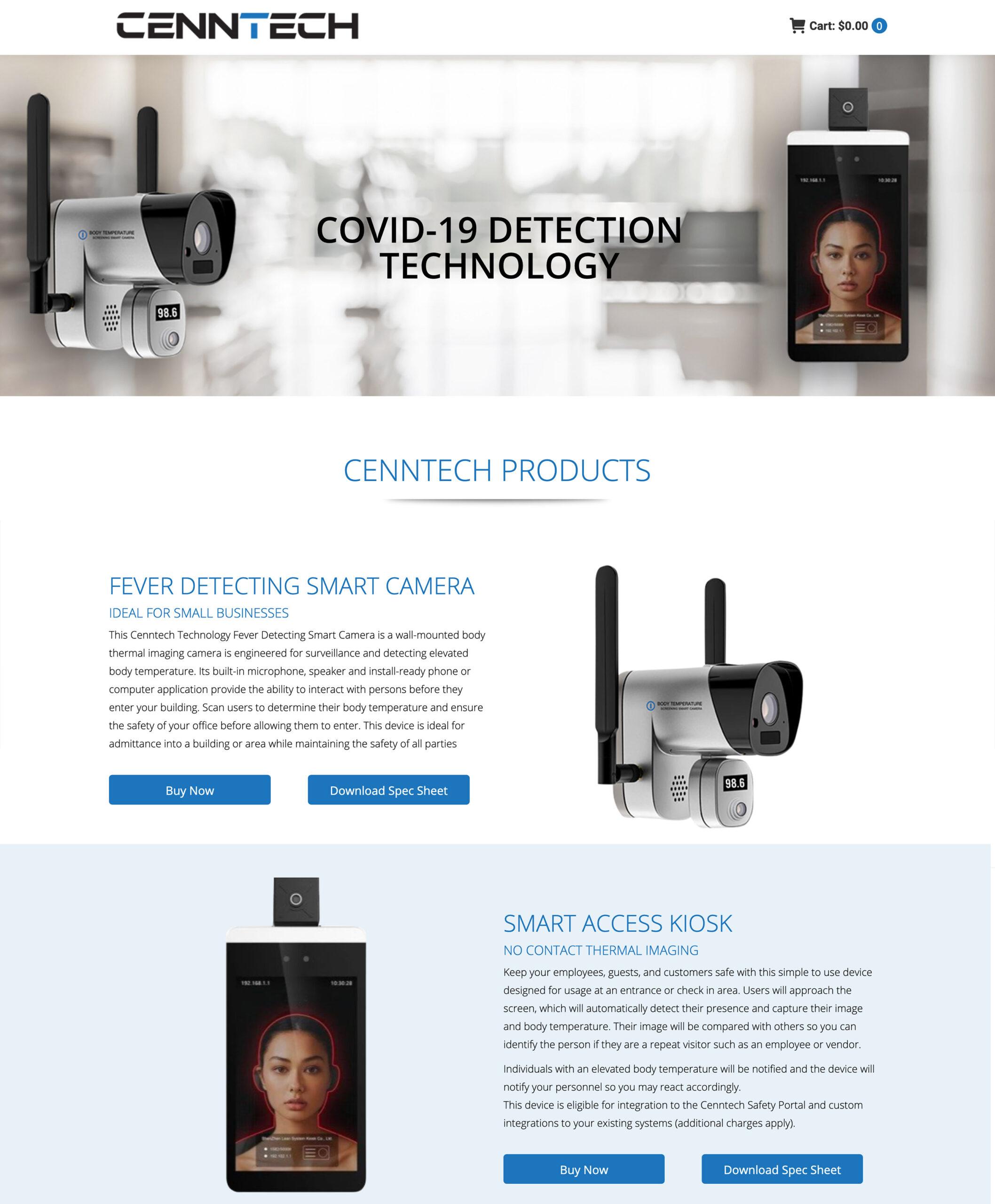 cenntech-Home Page