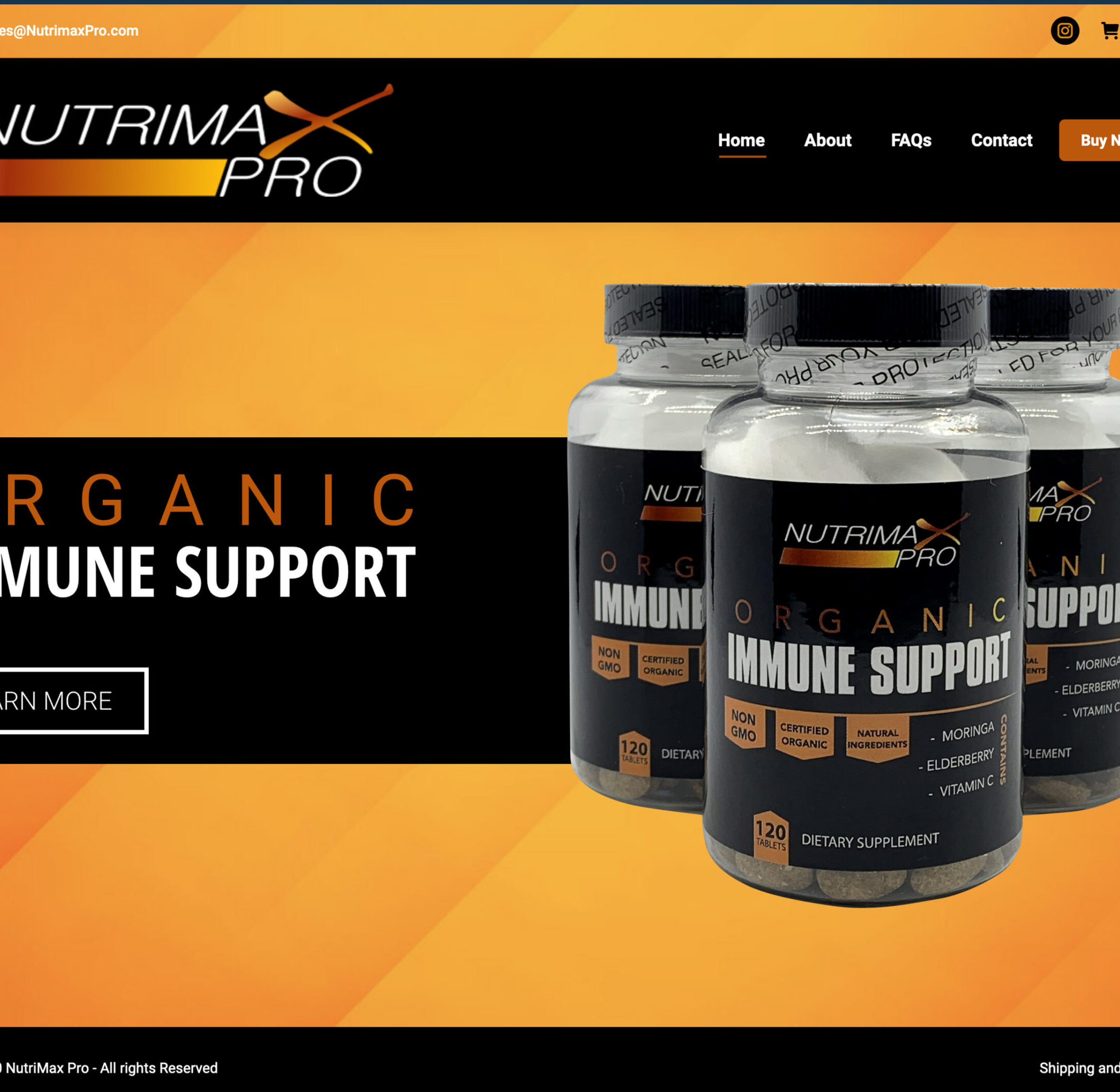 nutrimax-Home Page